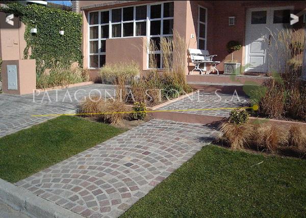 Patagonia stone s a for Pisos para galerias exteriores