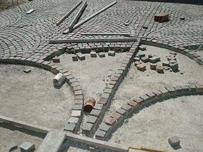 Patagonia stone s a for Colocar baldosas sobre hormigon